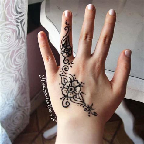henna tattoo by f tutoriel tatouage henn 233 motif facile