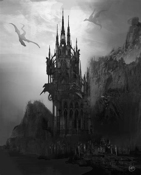 gothic castle by marinaortega on deviantart