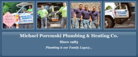 Plumbing Companies Pittsburgh by Poremski Michael F Plumbing Heating Pittsburgh Pa