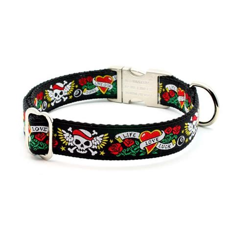 dog collar tattoo designs luck collar with personalized buckle
