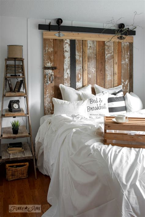 barn door headboard a cheater reclaimed wood barn door headboard with faux