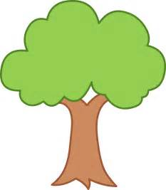 Tree Outline Green by Simple Green Tree Design Free Clip