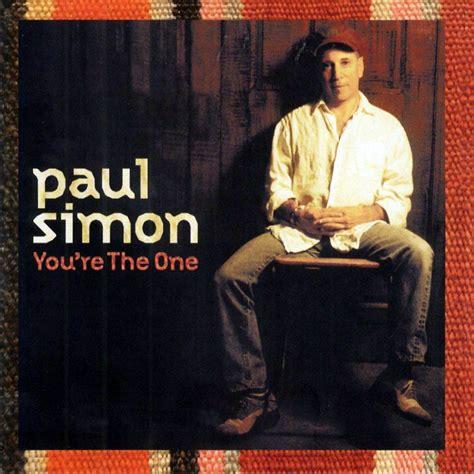 paul simon you re the one car 225 tula frontal de paul simon you re the one portada