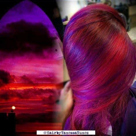 does great color hair sunset hair hair ideas haircolor hair and