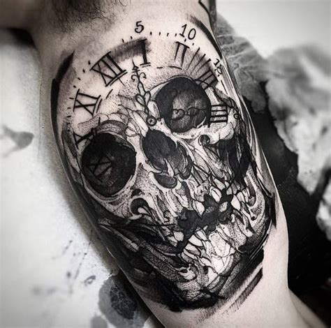 tattoo black and grey skull 40 perfect black and grey ink tattoos for men tattooblend