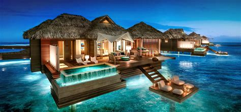 overwater bungalows punta cana royal caribbean all inclusive jamaican resort vacation