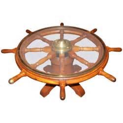 Wheel Coffee Table 19th C Ship S Wheel Coffee Table At 1stdibs