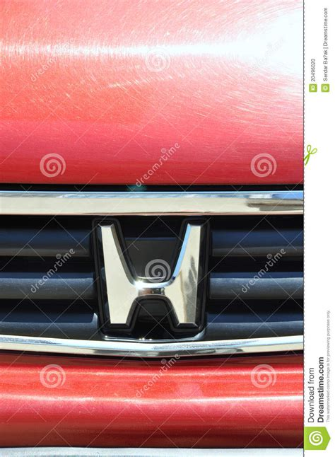 Honda Stock Symbol by Honda Symbol Editorial Photo Cartoondealer 16271121