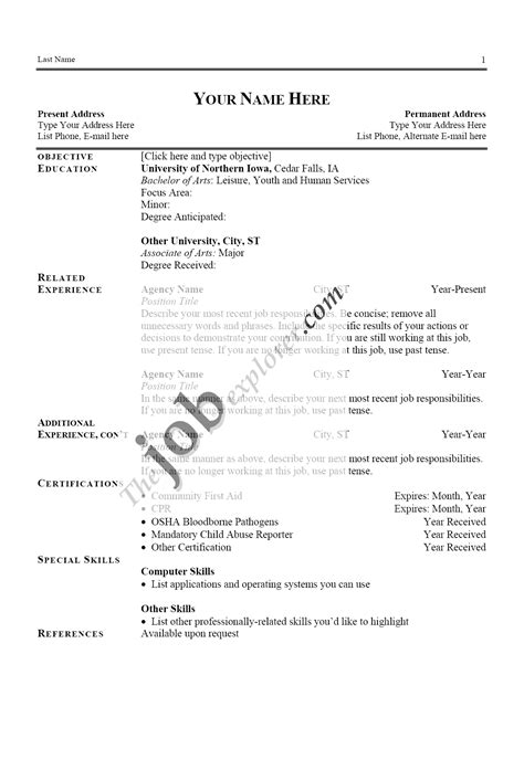 where can i get a free resume template can you get a without a resume resume ideas