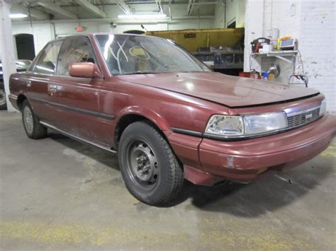 Toyota Camry 1988 Parts Parting Out 1988 Toyota Camry Stock 110540 Tom S