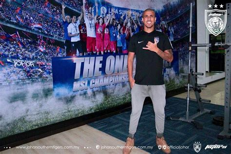 Welcome to JDT family, Bruno ? Official website of Johor