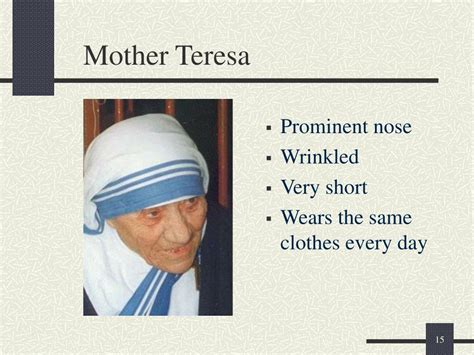 mother teresa biography for powerpoint ppt first impressions powerpoint presentation id 484248