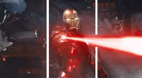 imagenes 3d que se salen animated meme iron man laser