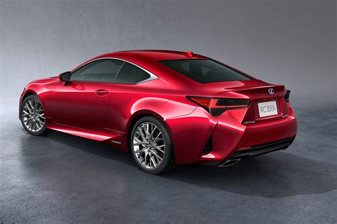 2019 Lexus Coupe by Lexus Reveals 2019 Rc Coupe Updated For Motor Show