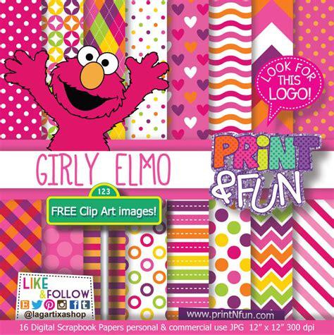 wallpaper elmo pink pink girly elmo digital paper patterns