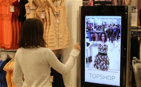 The Technology To Hit The Fitting Rooms Interactive Mirrors by Fitting Room Of The Future Or Point Of Sale Gimmick