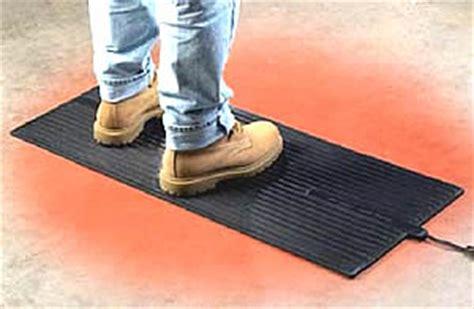 10 X 10 Heated Matting - footwarmer heated floor mat