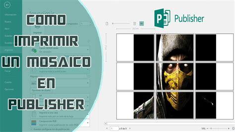 crear pdf varias imagenes online como imprimir imagen o poster en varias hojas en publisher