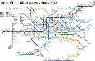 Subway Map Pdf by Detail Seoul Metropolitan Subway Route And Location Map