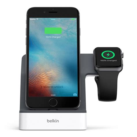 belkin powerhouse charging station dock stand for apple iphone x iphone 8 plus
