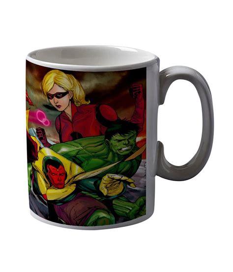 Buy Coffee Mugs Online India Artifa Superheroes Animated Coffee Mug Buy Online At Best