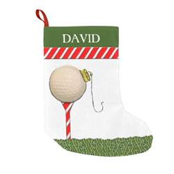 personalized golf christmas gifts small christmas stocking