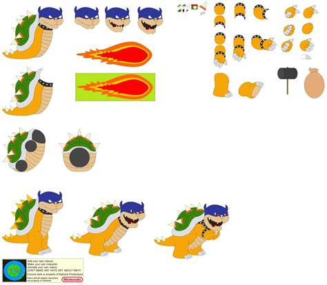 Kaos Mario Bros And Friends 17 Tx character builder rookie bowser by kphoria on deviantart