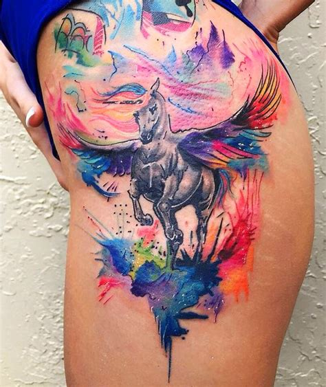 watercolor tattoos temporary 100 most beautiful watercolor ideas mybodiart