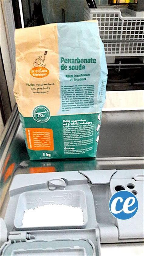 Enlever Calcaire Lave Vaisselle by 18 Utilisations 201 Tonnantes Du Percarbonate De Soude Dans