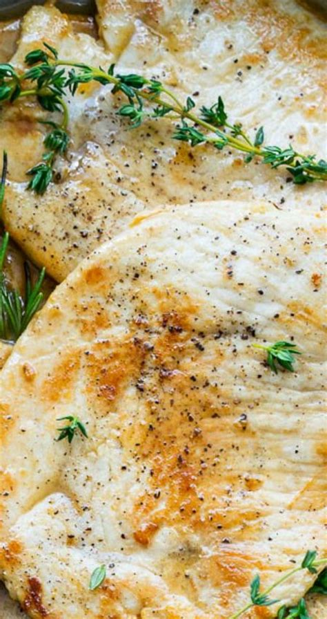 recipes using turkey breast cutlets rosemary and thyme turkey breast cutlets recipe