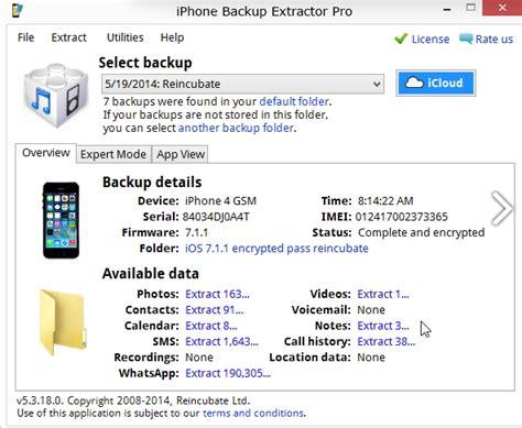 best iphone backup extractor iphone backup extractor exporteer en herstel iphone data