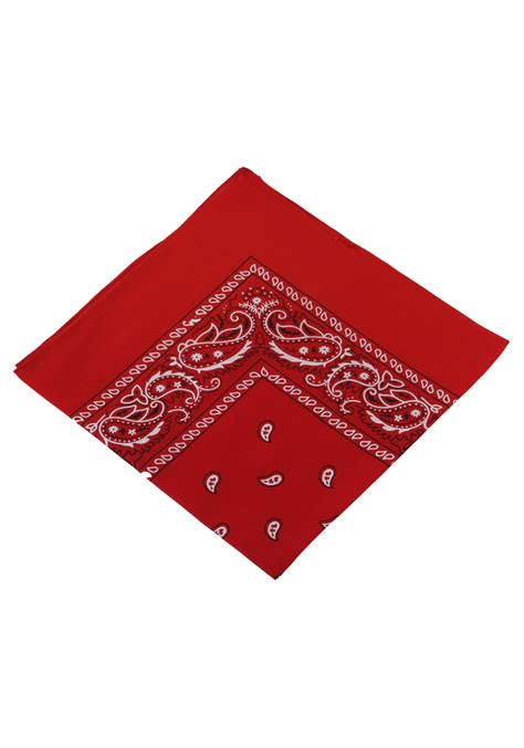 bandana on bandana western cowboy costume accessory