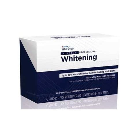 crest whitestrips supreme professional crest whitestrips supreme professional strength 84 strips