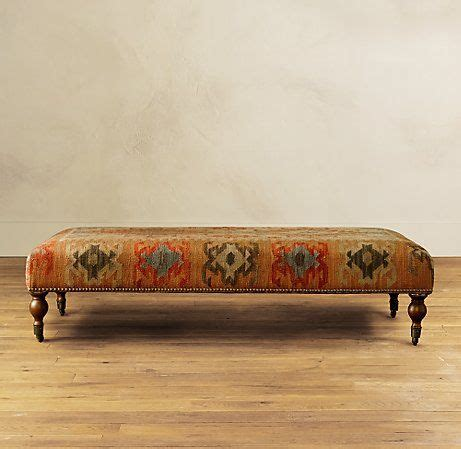 kilim ottoman bench 1000 images about upholstered bench on pinterest upholstery white bench and pop of