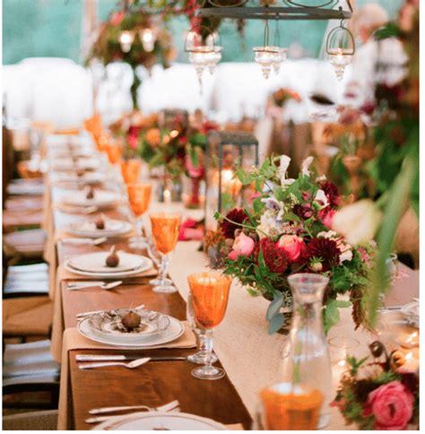 fall themed table decorations 6 beautiful fall wedding table decor ideas