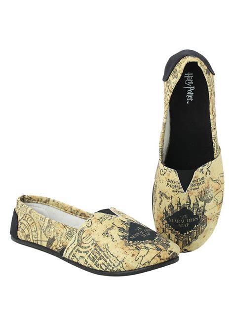 harry shoes harry potter marauder s map slip on shoes topic