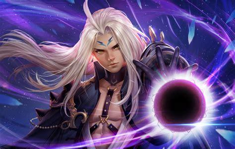 wallpaper magic anime fantasy art mag st cygnus fan