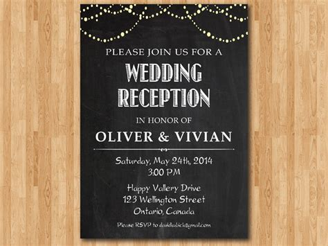 email invite to wedding reception stunning wedding reception invites theruntime