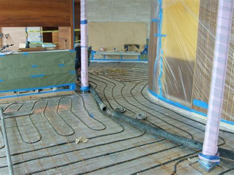 Heated Cement Floor by Radiant Floor Heating How To Heat Concrete Floors The
