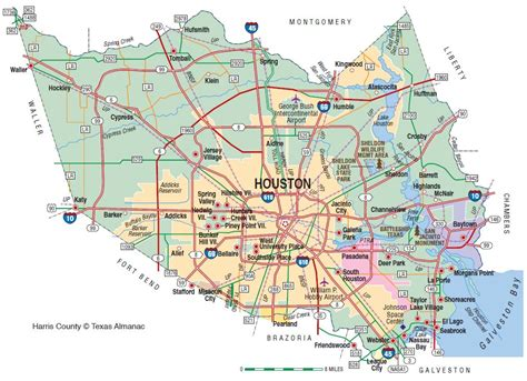 texas county lines map harris county the handbook of texas texas state historical association tsha