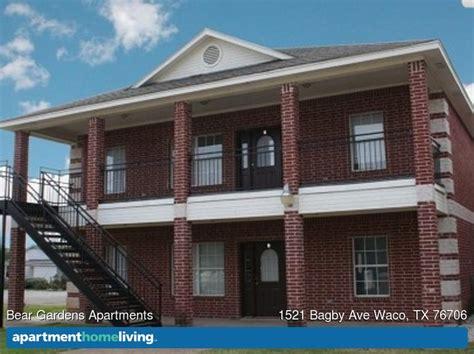 one bedroom apartments in waco tx bear gardens apartments waco tx apartments for rent