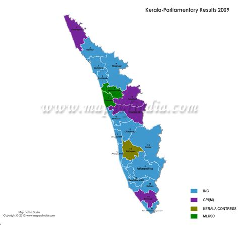 number of lok sabha seats in kerala kerala general lok sabha election results 2014 2009 and