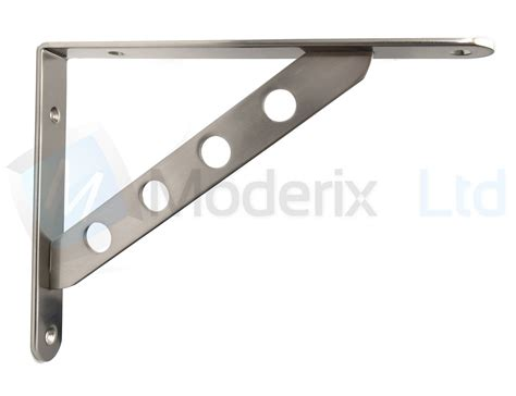 Shelf Supports Metal by Strong Metal Shelf Supports Bracket High Quality Chrome