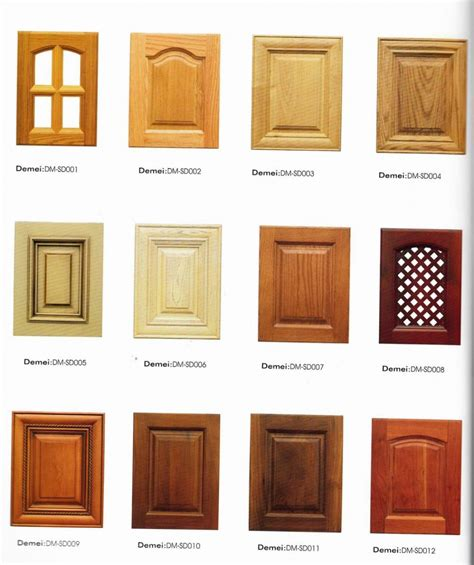 Types Of Kitchen Design Kitchen Cabinet Door Types Peenmedia