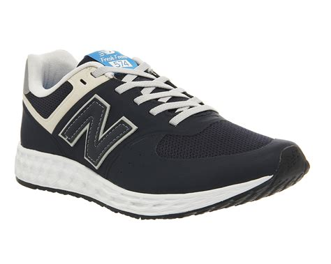 are new balance 574 comfortable new balance 574 fresh foam in blue lyst