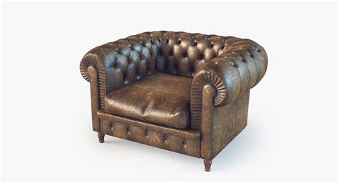 chester armchair chester armchair 3d model