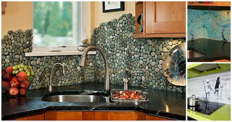 fun kitchen ideas update your kitchen with one of these fun backsplash ideas