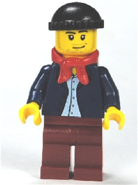 Lego Blue Bandana Lego Aksesoris bricker lego minifigure twn148 blue jacket light blue shirt legs