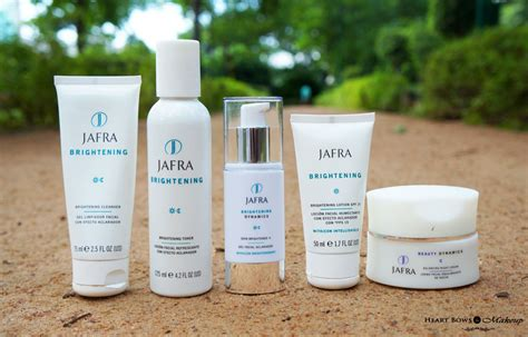 Toner Jafra jafra brightening range cleanser toner skin brightener review bows makeup