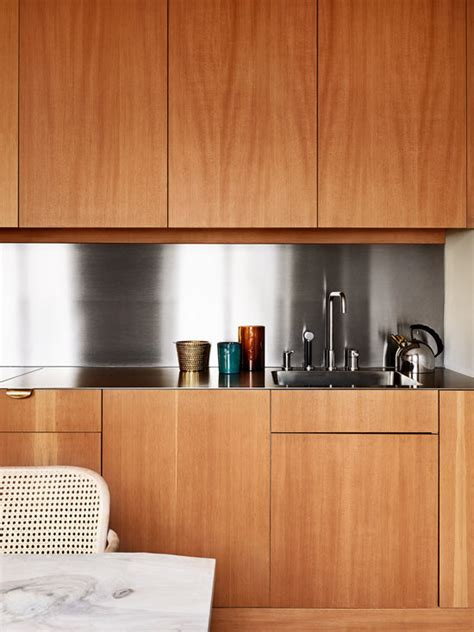 Kitchen Cabinets No Handles Thedesignerpad Thedesignerpad Scent And Sensibility